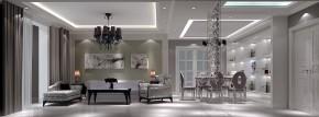 简约 欧式 二居 三居 白领 80后 高度国际 白富美 高富帅 餐厅图片来自北京高度国际装饰设计在中粮详云110平欧式公寓的分享