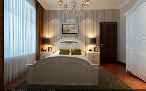 两个次卧也采用了顶角石膏线,使整个家庭装修更加层次分明,又不失太过简易。