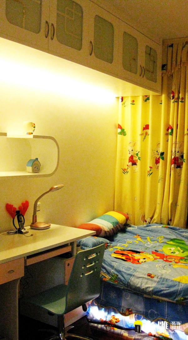 名雕装饰设计—新世纪星城二居—现代时尚—儿童房