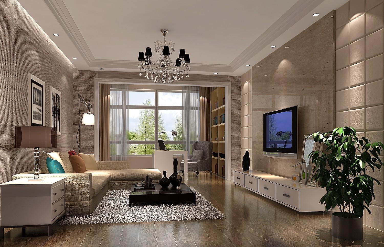 简约 现代 三居 白领 80后 高度国际 白富美 婚房 高富帅 客厅图片来自北京高度国际装饰设计在中粮祥云160平三居平层的分享