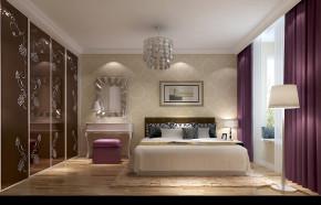 简约 现代 二居 白领 80后 婚房 白富美 高富帅 温馨 卧室图片来自北京高度国际装饰设计在筑华年97平浪漫两居婚房的分享