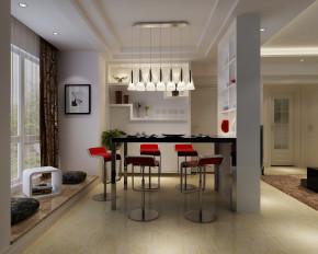 简约 现代 二居 白领 80后 高度国际 白富美 小清新 高富帅 餐厅图片来自北京高度国际装饰设计在筑华年极致两居公寓的分享