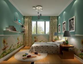 简约 欧式 三居 白领 高度国际 80后 白富美 婚房 时尚 儿童房图片来自北京高度国际装饰设计在中粮祥云简欧公寓的分享