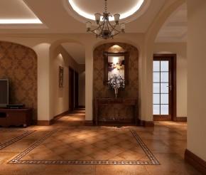 欧式 托斯卡纳 高度国际 三居 白领 80后 小资 白富美 高富帅 玄关图片来自北京高度国际装饰设计在鲁能七号院托斯卡纳花园洋房的分享