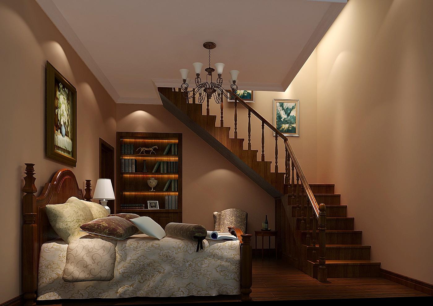 托斯卡纳 混搭 别墅 白领 收纳 小资 高度国际 温馨 舒适 卧室图片来自高度国际王慧芳在万万树的分享