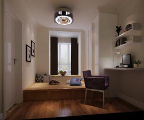 简约 现代 二居 白领 80后 高度国际 白富美 小清新 高富帅 书房图片来自北京高度国际装饰设计在筑华年极致两居公寓的分享