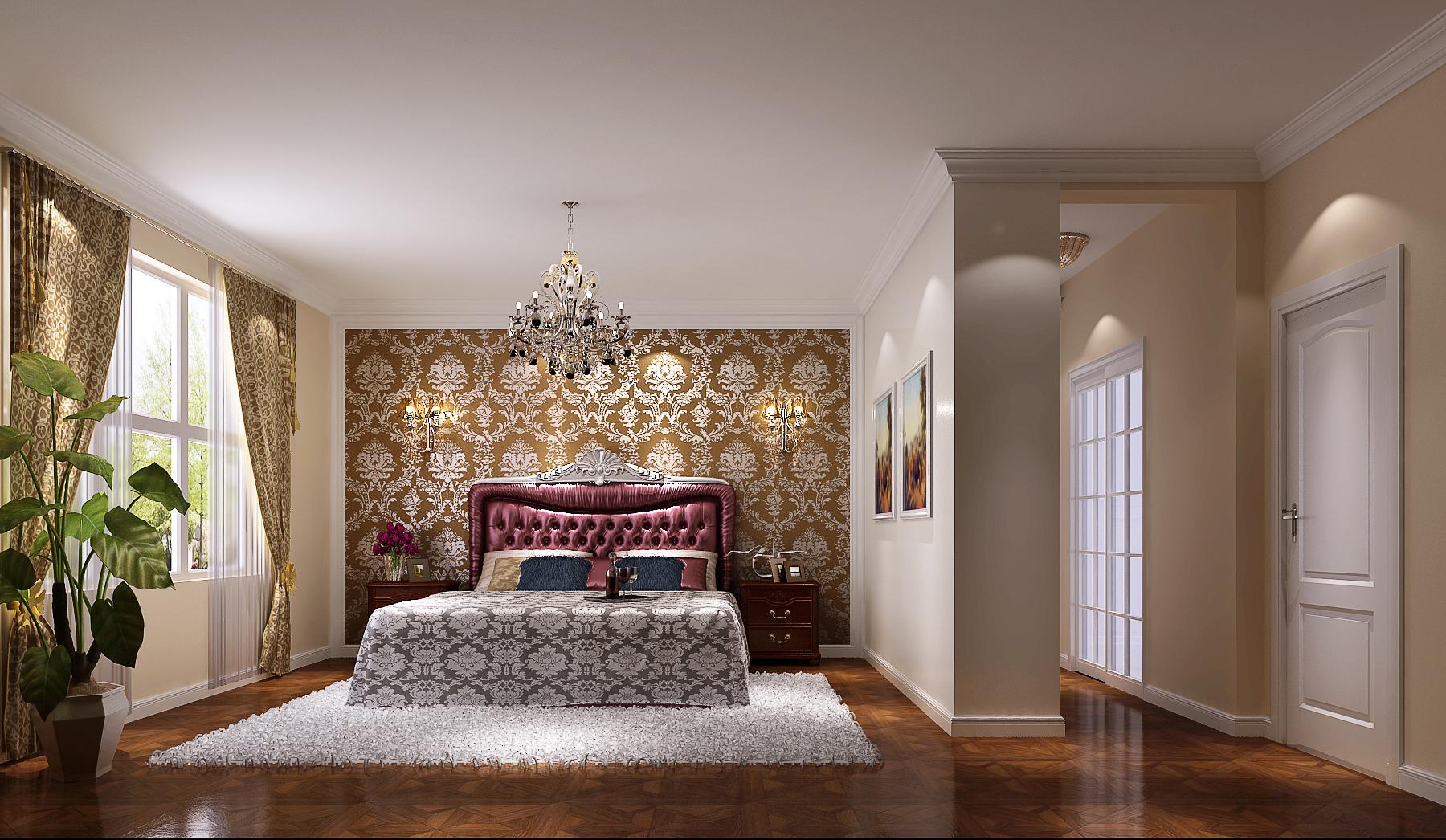 简约 欧式 混搭 白领 收纳 二居 小资 高度国际 小清新 卧室图片来自高度国际王慧芳在五万打造简约欧式鲁能七号院的分享