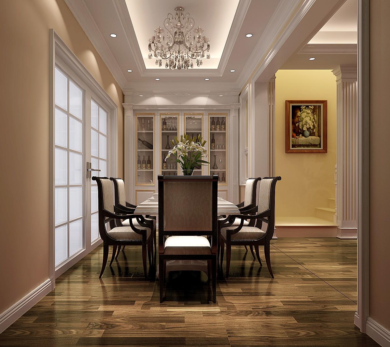 简约 欧式 别墅 白领 收纳 小资 高度国际 小清新 温馨舒适 餐厅图片来自高度国际王慧芳在简约欧式潮白河孔雀城的分享