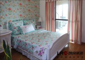 小清新 地中海 二居 浪漫 80后 小资 卧室图片来自朗润装饰工程有限公司在成都ICC128平小清新地中海格调的分享