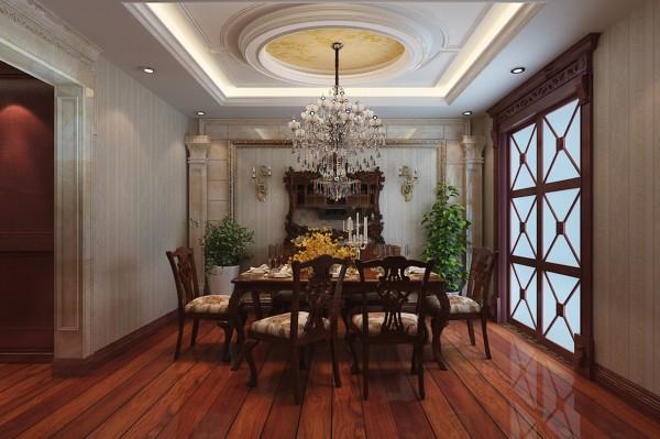 石家庄业之峰装饰-建投十号院160平米英式风格