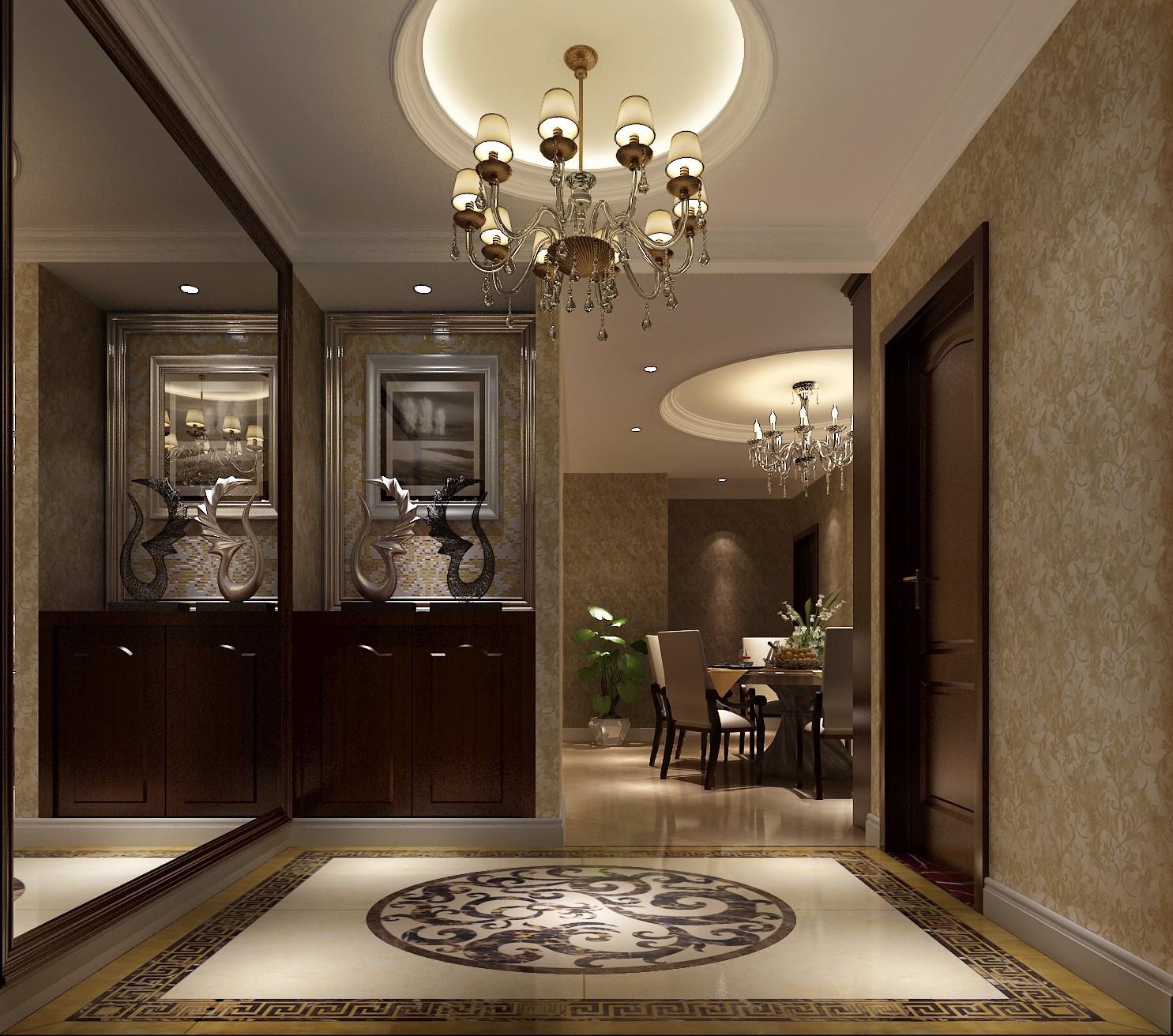简约 美式 休闲 舒适 三居 80后 小资 玄关图片来自高度国际装饰刘玉在世华泊郡----休闲的分享
