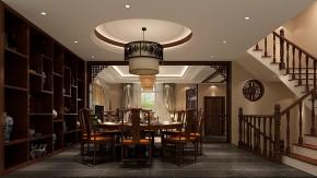 中式 混搭 别墅 白领 收纳 小资 高度国际 小清新 温馨舒适 餐厅图片来自高度国际王慧芳在大运河孔雀城的分享