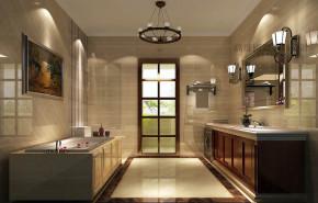 混搭 温馨 舒适 卫生间图片来自高度国际设计装饰在鲁能七号院175㎡混搭风格案例的分享