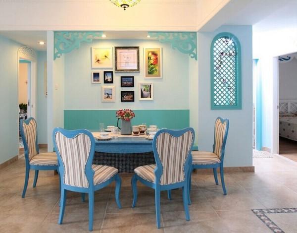 """地中海风格的灵魂就是""""蔚蓝色的浪漫情怀,海天一色、艳阳高照的纯美自然主义""""。"""