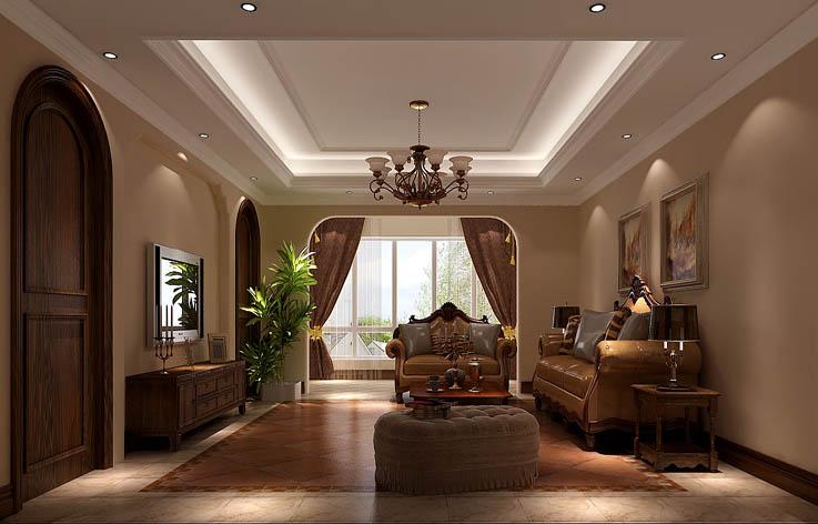 托斯卡纳 客厅图片来自高度国际在20万打造旭辉御府托斯卡纳风的分享