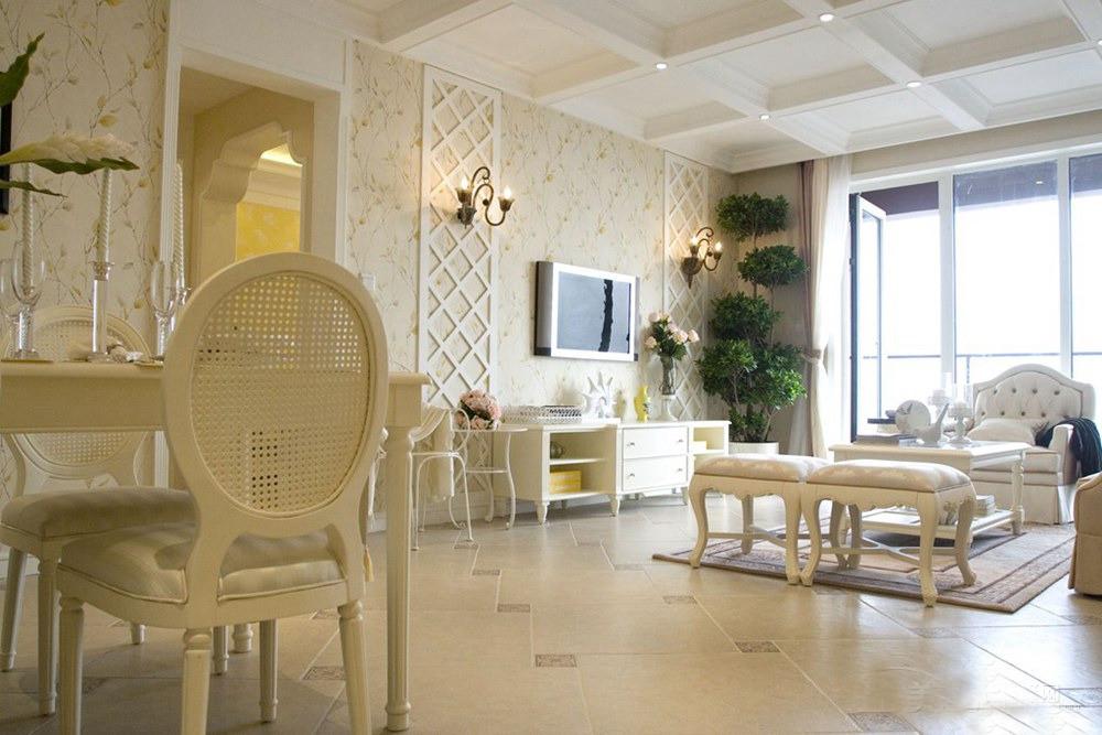 田园 欧式 清新文艺范 今朝装饰图片来自北京今朝装饰在欧式风格,甜美公寓的分享