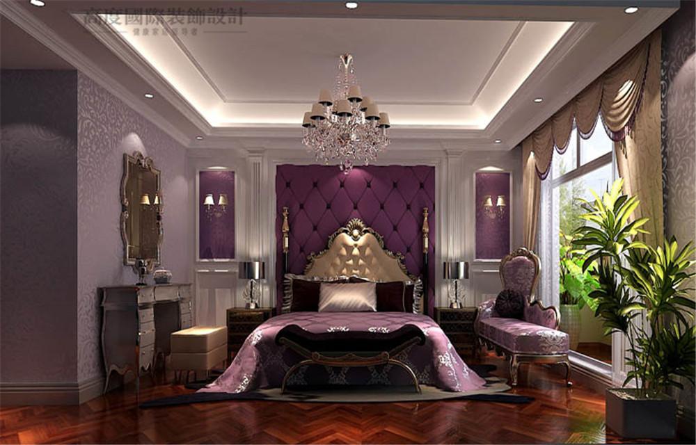 洋房 顺义 欧式 奢华 装修 卧室图片来自高度国际别墅装饰设计在浪漫婚房的分享