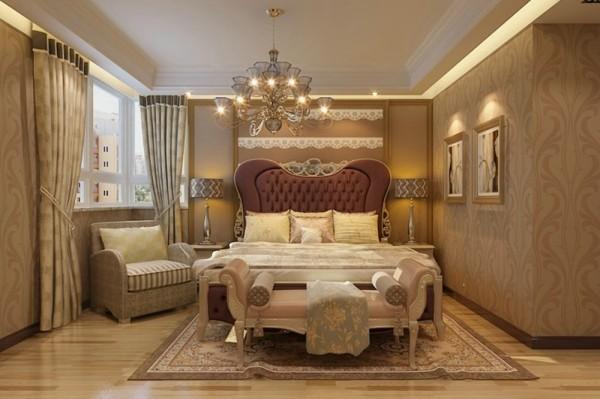 石家庄业之峰装饰-天成明月洲欧式风格180平米四居室