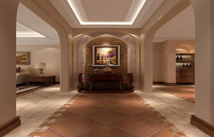 托斯卡纳 玄关图片来自高度国际在20万打造旭辉御府托斯卡纳风的分享