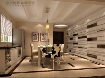 简约风格联排别墅装饰设计