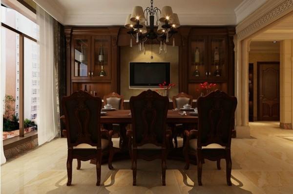 石家庄业之峰装饰-国际城古典欧式170平米四居室