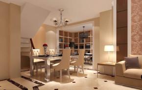 欧式 收纳 简约 二居 80后 小资 高度国际 小清新 温馨舒适 餐厅图片来自高度国际王慧芳在欧式风格M5郎峰的分享