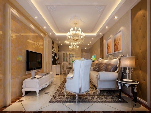 客厅的主题色彩是高雅的壁纸,温馨的色彩去弥合独立空间的装饰风格差异,平衡不同功能区域在视觉感官上的重量配置!