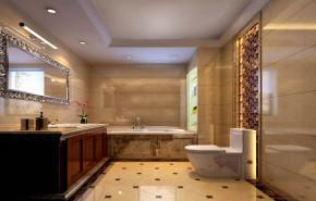 欧式 收纳 简约 二居 80后 小资 高度国际 小清新 温馨舒适 卫生间图片来自高度国际王慧芳在欧式风格M5郎峰的分享