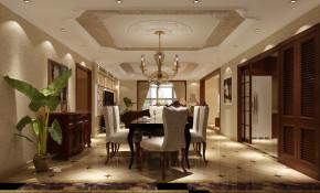 金色漫香苑 高度国际 别墅 美式 白领 80后 公寓 白富美 高富帅 餐厅图片来自北京高度国际装饰设计在金色漫香苑美式休闲公寓的分享