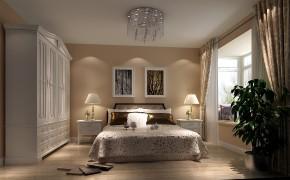 简约 现代 时尚 二居 白领 80后 高度国际 白富美 高富帅 卧室图片来自北京高度国际装饰设计在世华泊郡90平现代公寓的分享
