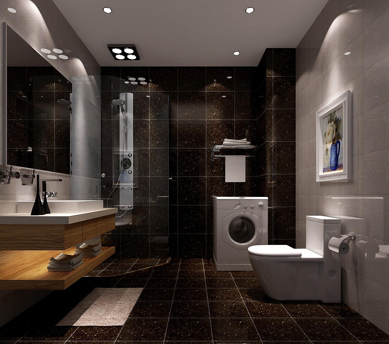 简约 现代 时尚 二居 白领 80后 高度国际 白富美 高富帅 卫生间图片来自北京高度国际装饰设计在世华泊郡90平现代公寓的分享