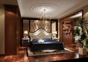 金色漫香苑 高度国际 别墅 美式 白领 80后 公寓 白富美 高富帅 卧室图片来自北京高度国际装饰设计在金色漫香苑美式休闲公寓的分享