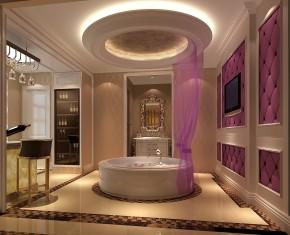 欧式 白领 收纳 小资 混搭 高度国际 小清新 温馨舒适 新房 卫生间图片来自高度国际王慧芳在浪漫奢华舒适鲁能七号院。的分享