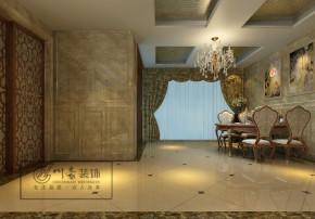 欧式 收纳 川豪装饰 复式 四居 客厅 卧室 其他图片来自合肥川豪装饰王琴在华地学府名都280㎡装修设计的分享