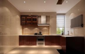 新中式 混搭 白领 收纳 小资 高度国际 小清新 温馨舒适 厨房图片来自高度国际王慧芳在6万打造新中式四合上院的分享