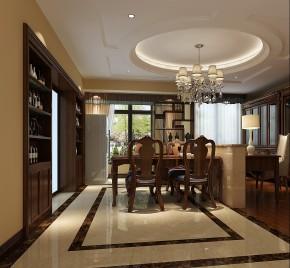 欧式 简约 混搭 收纳 小资 高度国际 小清新 温馨舒适 餐厅图片来自高度国际王慧芳在欧式风格天润福熙大道的分享