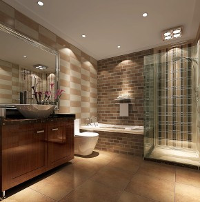 天福熙大道 高度国际 三居 简约 白领 80后 现代 时尚 白富美 卫生间图片来自北京高度国际装饰设计在天润福熙大道品质升级的分享