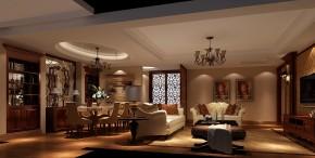 地中海 高度国际 三居 白领 80后 白富美 时尚 简约 高富帅 客厅图片来自北京高度国际装饰设计在低调奢华地中海式鲁能的分享