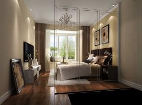 鲁能七号院 高度国际 三居 现代 简约 白领 80后 白富美 高富帅 卧室图片来自北京高度国际装饰设计在鲁能七号院现代简约公寓的分享