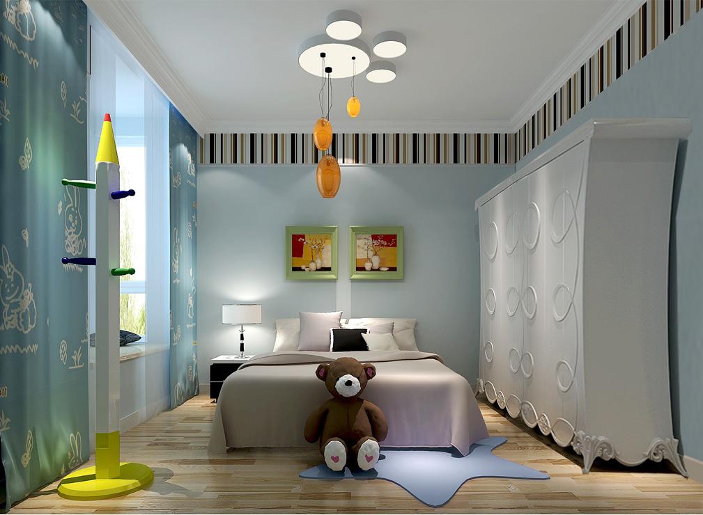 临河里小区 简约 三居 白领 80后 时尚 小清新 白富美 现代 儿童房图片来自北京高度国际装饰设计在临河里小区的分享