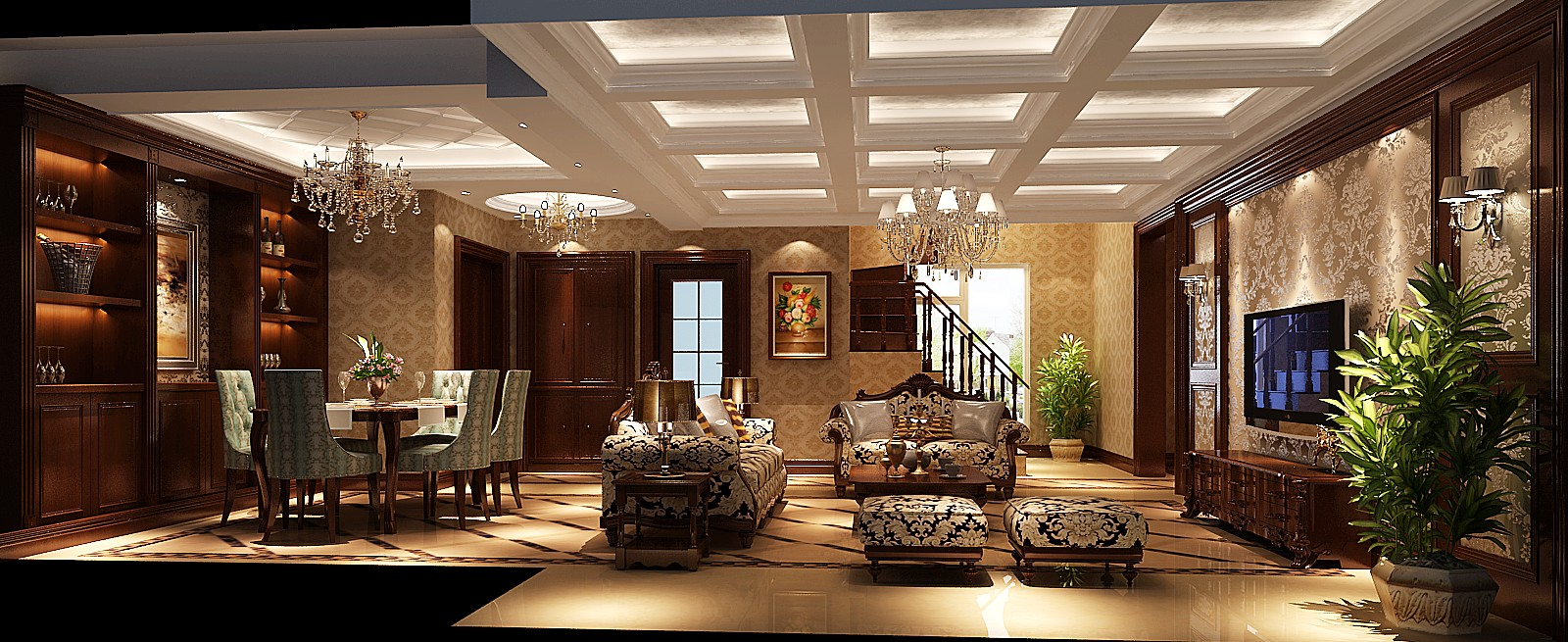 简约 欧式 混搭 白领 收纳 小资 高度国际 小清新 温馨舒适 客厅图片来自高度国际王慧芳在简欧鲁能七号院的分享