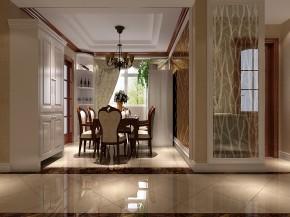 鲁能七号院 高度国际 三居 简约 白领 80后 白富美 高富帅 时尚 餐厅图片来自北京高度国际装饰设计在鲁能七号院典雅自然高贵品质的分享