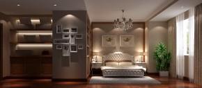 简约 中式 高度国际 三居 白领 80后 时尚 白富美 温馨 卧室图片来自北京高度国际装饰设计在廊桥水岸开启你的浪漫之旅的分享