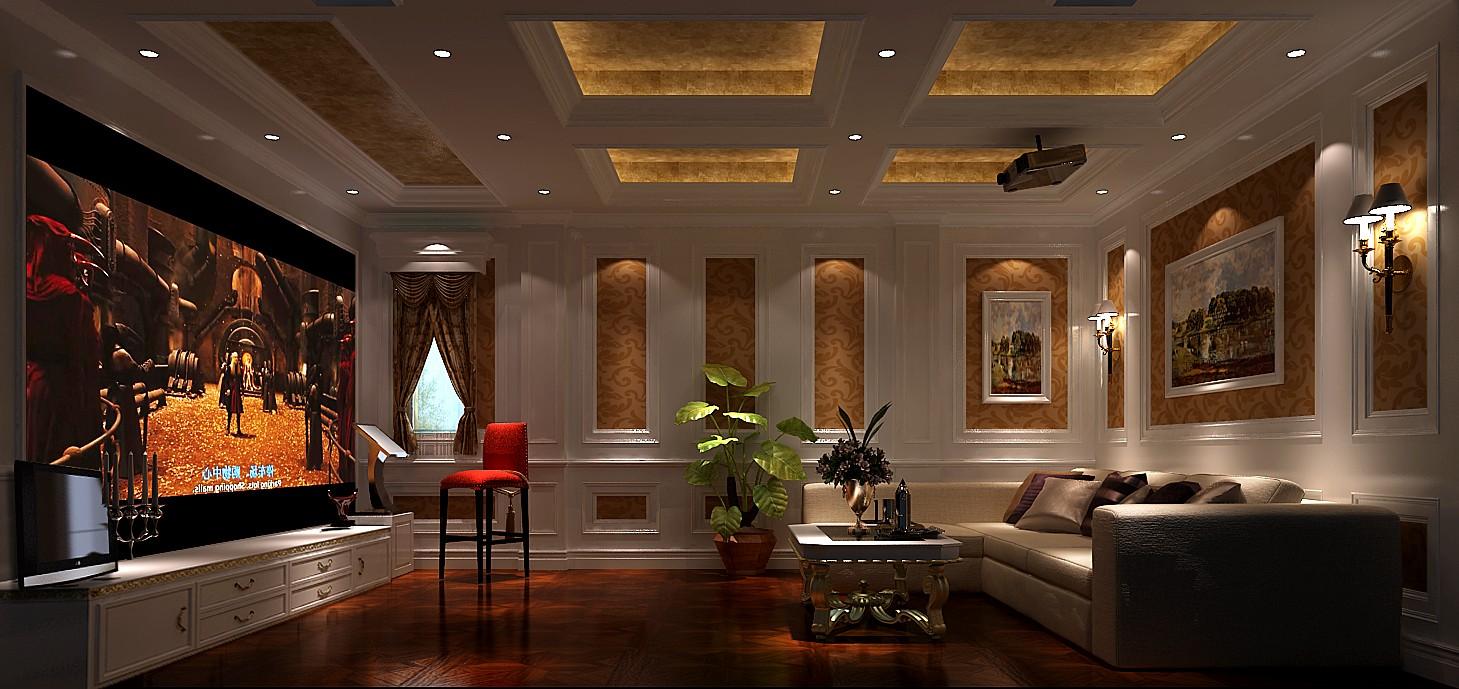 欧式 三居 混搭 别墅 白领 收纳 小资 高度国际 小清新 客厅图片来自高度国际王慧芳在15万打造欧式中海尚湖世家的分享