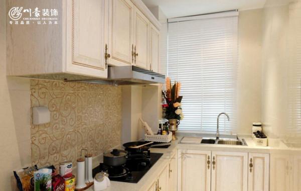 天下锦城二期101㎡简约装修设计,厨房。