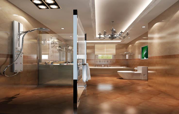 托斯卡纳范 卫生间图片来自高度国际在15万打造龙山逸墅托斯卡纳范的分享