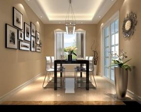 鲁能七号院 高度国际 三居 现代 简约 白领 80后 白富美 高富帅 餐厅图片来自北京高度国际装饰设计在鲁能七号院现代简约公寓的分享