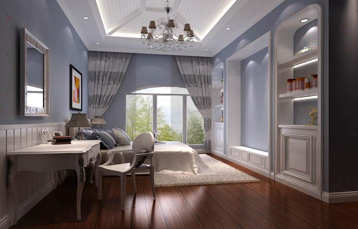 托斯卡纳 卧室图片来自高度国际在24万打造鲁能七号院托斯卡纳风的分享