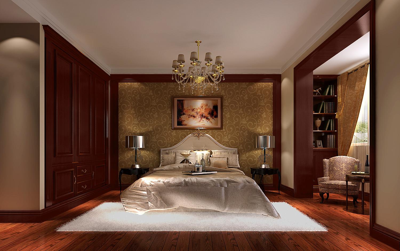 地中海 高度国际 三居 白领 80后 白富美 时尚 简约 高富帅 卧室图片来自北京高度国际装饰设计在低调奢华地中海式鲁能的分享