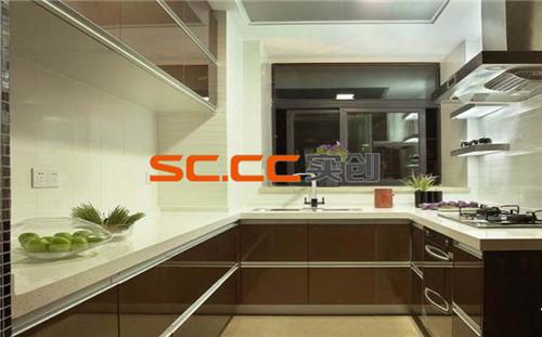 简约 厨房图片来自实创装饰小李在紫峰公馆105平米的分享